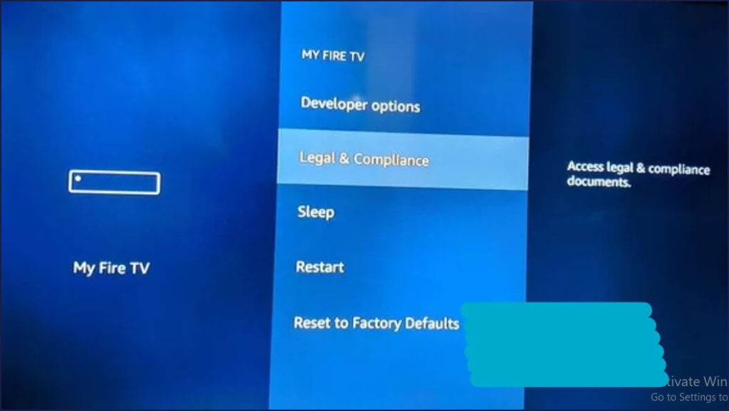 amazon firestick tv reset to factory default setting